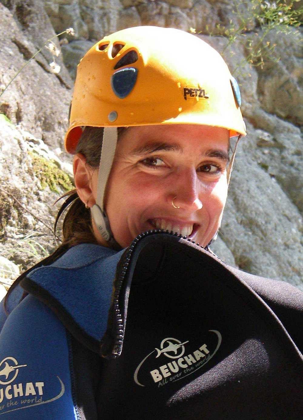 Céline monitrice canyon