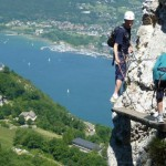 via ferrata dent du chat