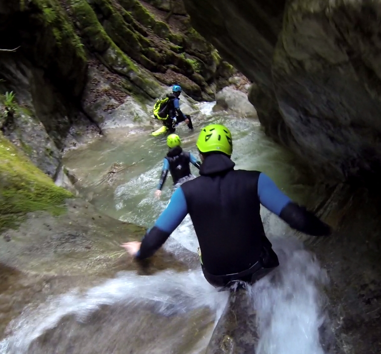 seminaire canyoning annecy angon