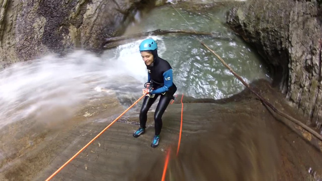 video rappel canyoning annecy