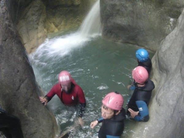 canyonnig annecy haute savoie