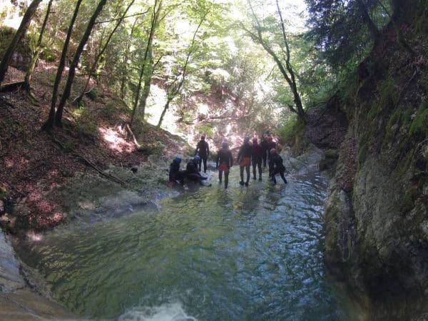canyonnig annecy reposoir