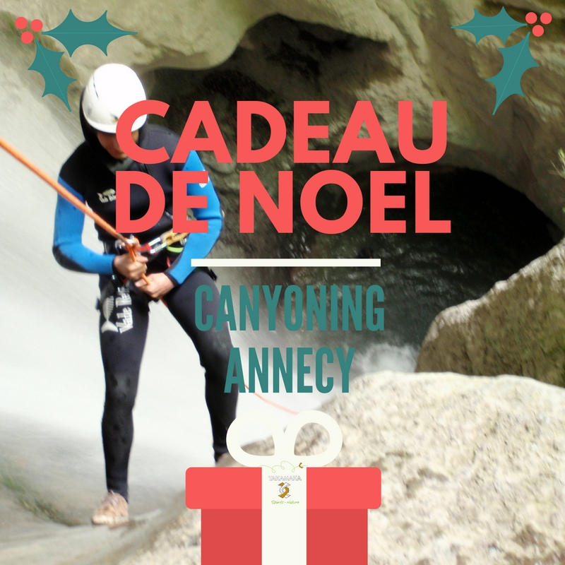 cadeau noel canyoning annecy