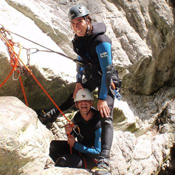 Annecy Canyoning Perfectionnement