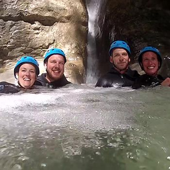 Canyoning Angon boîte aux lettres
