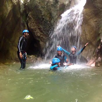 Canyoning Angon découverte
