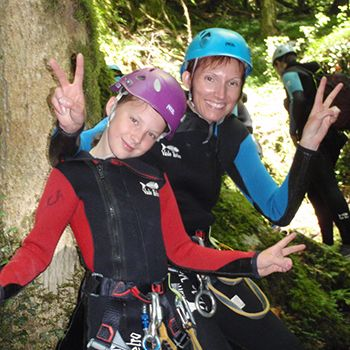 Canyoning Angon famille