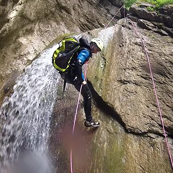 Canyoning Annecy Séance