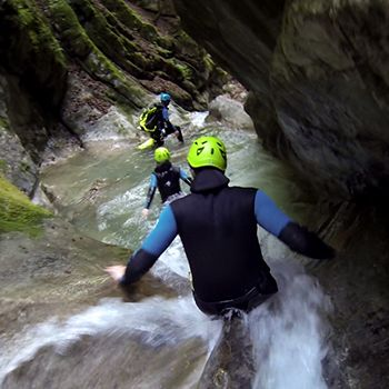 Canyoning perfectionnement angon
