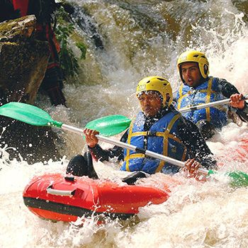 Rafting Annecy canoe-raft