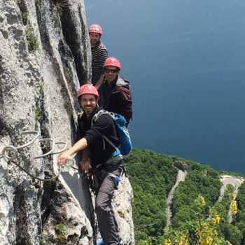 Via ferrata Annecy Dent du Chat