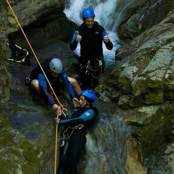 stage canyoning annecy